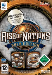 Rise of Nations Gold Edition, (CD)