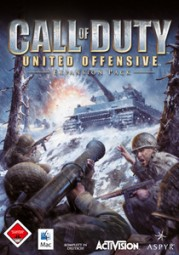 Call of Duty: United Offensive, (DVD)