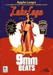 AMG Lukecage presents 9mm Beats, (CD)