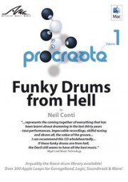 AMG procreate Volume 1: Funky Drums from Hell by Neil Conti, (CD)