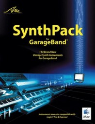 AMG SynthPack for GarageBand: 154 Brand New Vintage Synth Instruments, (CD)