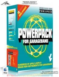 AMG PowerPack for GarageBand, (CD)