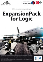AMG Expansion Pack for Logic: 3200 Professional Apple Loops, (DVD)