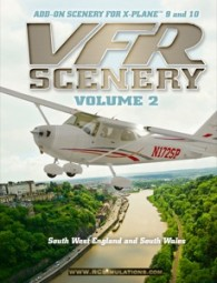 X-Plane 9/X-Plane 10 - Scenery 2: South-West UK & South Wales, (DVD), englische Version