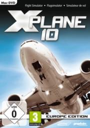 X-Plane 10: Europe Edition (Mac), (DVD)