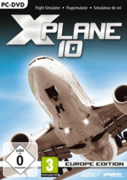 X-Plane 10: Europe Edition (PC), (DVD)
