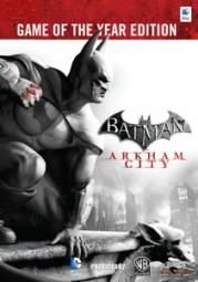 Batman: Arkham City Game of the Year Edition, (DVD)
