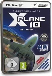X-Plane 10 Global - 64 Bit - Best of (Mac/PC), (DVD)