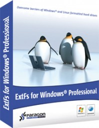 Paragon ExtFS for Windows Professional, Academic (Download)